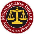 Multimillion Dollar Advocates Forum logo
