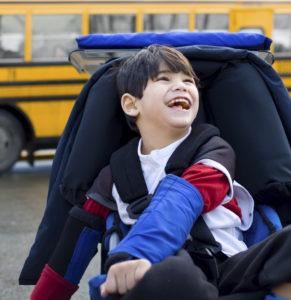 Adaptive equipment for children with Cerebral Palsy